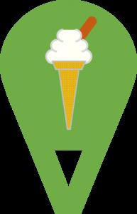 ice cream loc pin